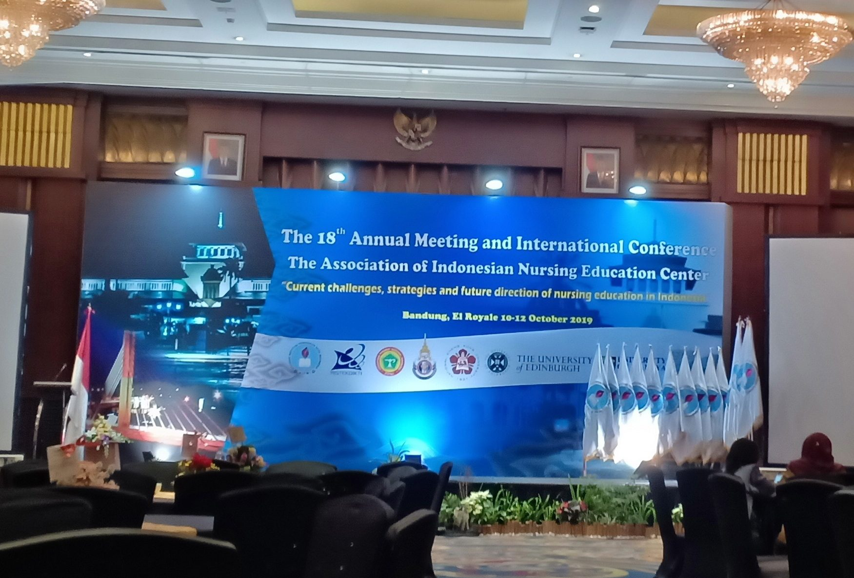 The 18th Annual Meeting and International Conference The Association of Indonesia Nursing Education Center (AINEC)